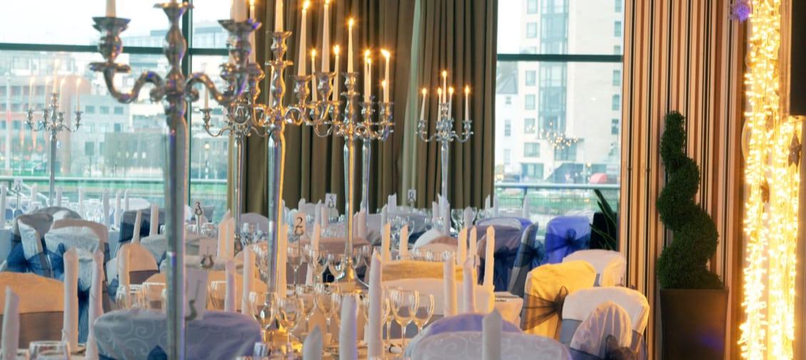 28/12/09The Clarion Hotel, Wedding venue room..  Pic Séan Curtin Press 22.