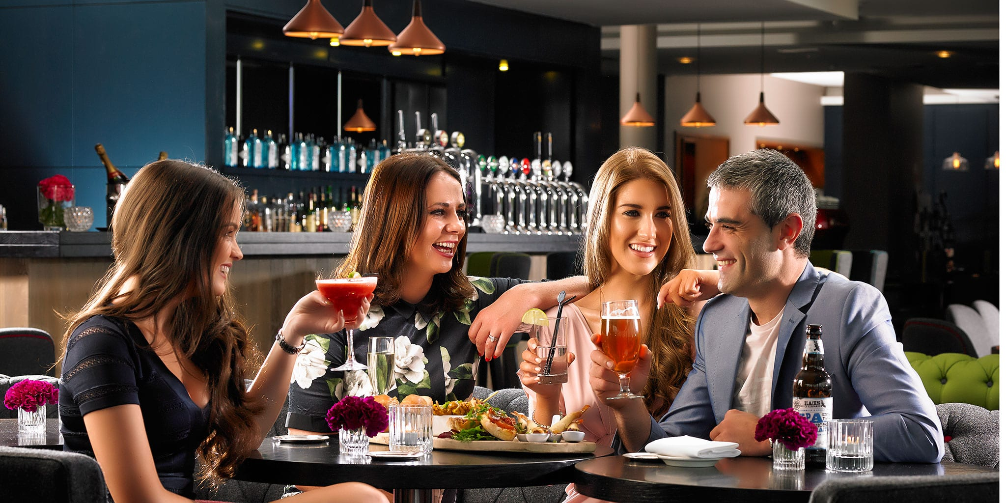 friends-celebrating-in-Clayton-Hotel-Limerick