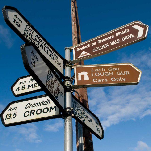 signposts limerick